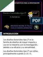 Clase 6 - Diseños Factoriales tipo 2^k (1)