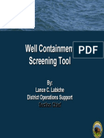 Well Containment Screening Tool