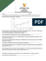 Atividade Conceitos e Medidas Em Química 2017.2-1 PITÁGORAS