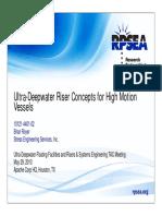 FLFS PR 10121 4401 02 Ultra Deepwater Riser Concepts High Motion Vessels Royer 05-29-13