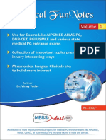 Medical Funnotes Volume