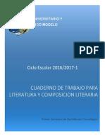 Cuaderno de Trabajo Literatura y Composición Literaria