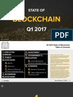 State of Blockchain q1 2017