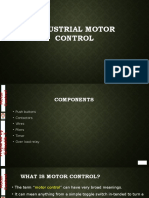 Industrial Motor Control Part I