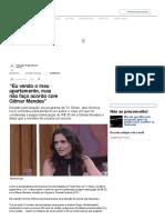 """""""Eu vendo o meu apartamento, mas não faço acordo com Gilmar Mendes"""".pdf"""