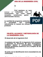 Objeto y Alcance de La Ing. Civil