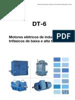 DT 6 - Motores Elétricos de Indução Trifásicos de Baixa e Alta Tensão