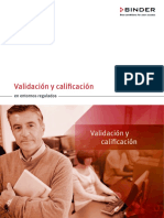 Validation and Qualification in the Regulated Environment ES