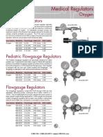 ADC2111Q OXYGEN Mini Med_Pediatric Flowgauge_Flowgauge Regulators