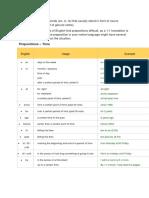 Materi & Soal Preposition