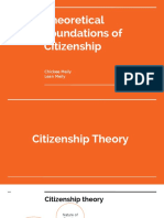 Theoretical Foundation of Citizenship