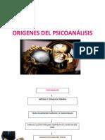 Origenes Del Psicoanálisis