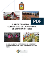 PLAN MUNICIPAL DE CHINCHA
