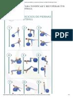 10 Ejercicios Para Tonificar y Recuperar Tus Piernas Con Fitball _ Fisioterapia Online