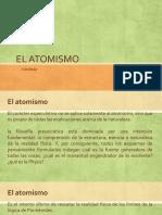 El Atomismo