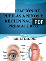 Dilatación de Pupilas y Cuidados de Enfermería 1