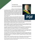 Biografía de Hugo Banzer Suárez