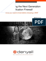 Whitepaper Introducing the Next Generation Web Application Firewall