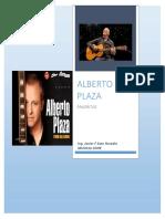 Letras de Alberto Plaza