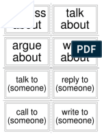 Collocations - Odd One Out