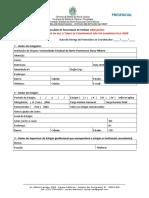 PRESENCIAL Formulário de Solicitação de Estágio OBRIGATÓRIO