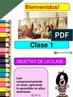 clase 1 lenguaje ppt