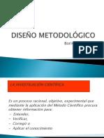Diseño Metofdologico