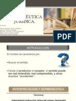 Herméutica Jurídica