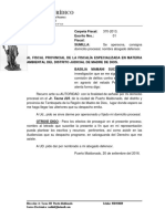 BASILIA MAMANI SUCASAIRE Fiscalia Apersonamiento