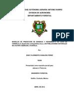 Modelos de Prediccion y Biomasa de Candelilla Tesis Eddy