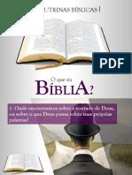 01. O Que é a Bíblia