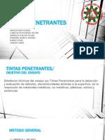tintas penetrantes