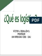 Que Es Logistic A