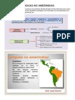 Lenguas No Amerindias