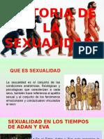 Evolución de La Sexualidad