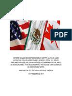 31-08-17 Informe Negociaciones TLCAN
