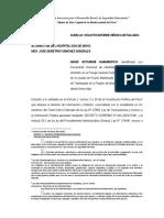 Solicita Informe Medico Detallado
