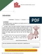 Atividades de advérbio prontas para imprimirSala de Atividades.pdf