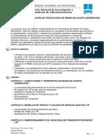 Diseño e Implementación de Tecnologías de Redes de Cuarta Generación