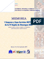 Memoria Congreso , Masaya 2007
