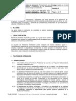 TecNM AC PO 004 Procedimiento Residencias Profesionales
