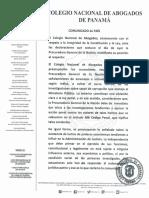 Pronunciamiento del Colegio Nacional de Abogados sobre Declaraciones de Procuradora General de la Nación