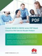 Huawei NE08E NE05E Series Mid End Router Product Brochure