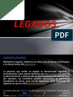 1.8 LEGADOS