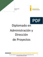 Diplomado en Administracion y Desarrollo de Proyectos 2016