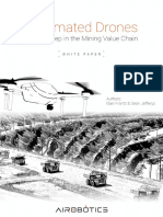 Automated Drones - Mining Value Chain