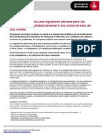 Nota de Prensa Normativa Cast 2
