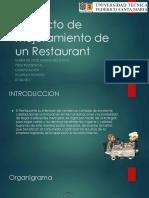 Proyecto de Mejoramiento de Un Restaurant-MARIA de JESUS