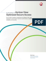 VMware Horizon View With F5 Optimized Solution Overview En