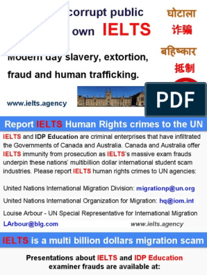 IDP Education IELTS Modern Day Slavery | International English